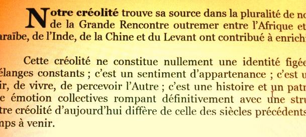 """La Charte de """"Tous Créoles !"""""""