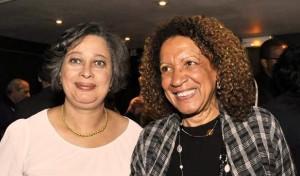 Béatris COMPERE (à gauche) et Nicole ALPHA