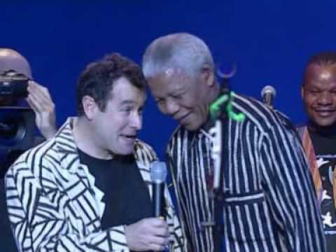 """Johnny CLEGG et Nelson """"Madiba"""" MANDELA"""