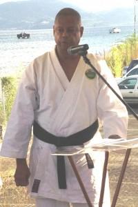 Jean-Paul JOUANELLE en tenue de judoka