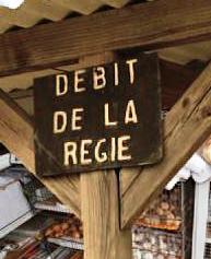 « Débit de la Régie »