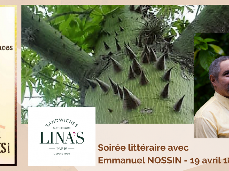 Soirée littéraire avec Emmanuel NOSSIN – 19 avril 2018