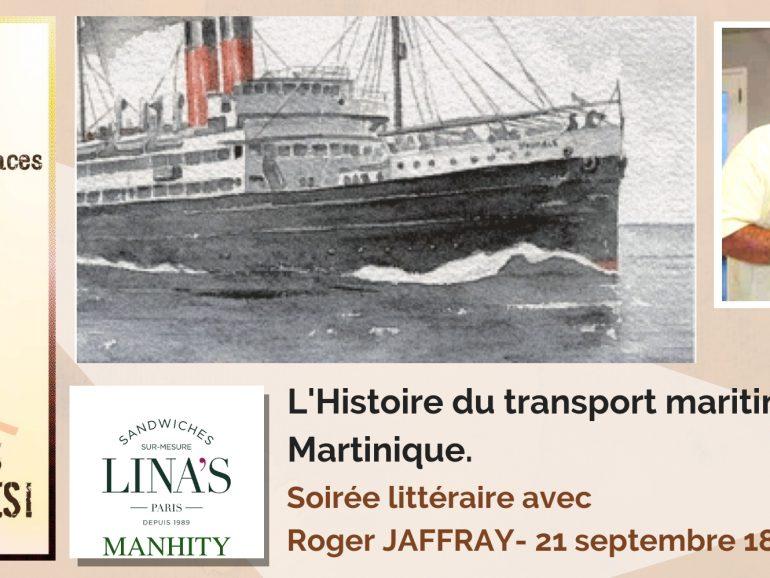 Soirée littéraire Tous Créoles avec Roger JAFFRAY
