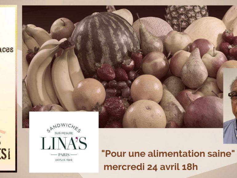 Conférence pour une alimentation saine en Martinique