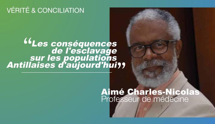 Le Professeur Aimé Charles-Nicolas ouvre le cycle «Vérité & Conciliation» avec une grande conférence sur les conséquences de l'esclavage